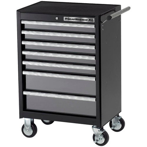 GearWrench 7 Drawer XL Series Black & Silver Roller Tool Cabinet