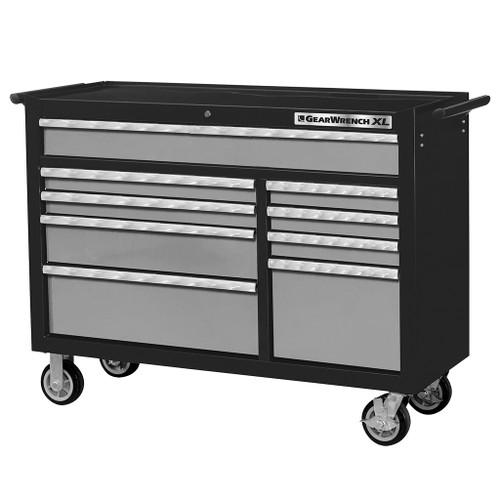 GearWrench 9 Drawer XL Series Black & Silver Roller Tool Cabinet