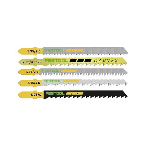 Festool T-shank Jig Saw Blades, 25-Piece