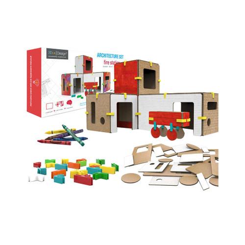 3Dux Design Fire Station Architecture Kit