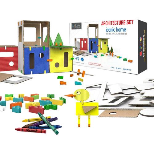 3Dux Design Iconic Home Architecture Set