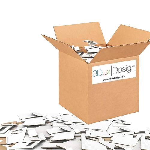 3Dux Design Cardboard Refill Classroom Kit
