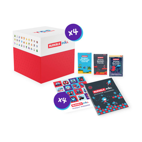 Bloxels Video Game School Bundle, 300 Student Accounts