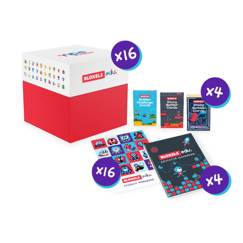 Bloxels Video Game District Bundle, 1500 Student Accounts
