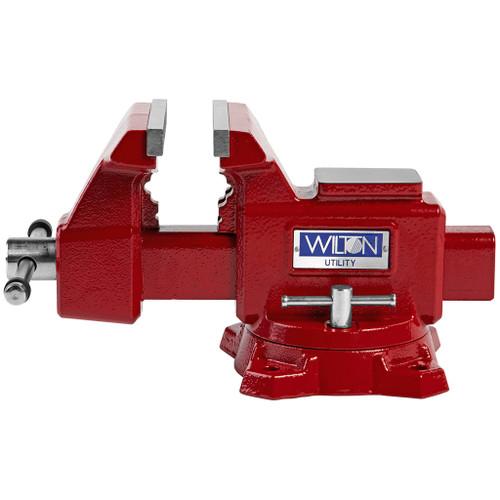 "Wilton Utility Bench Vise 5-1/2"" Jaw Width, 5"" Jaw Opening, 360° Swivel Base"