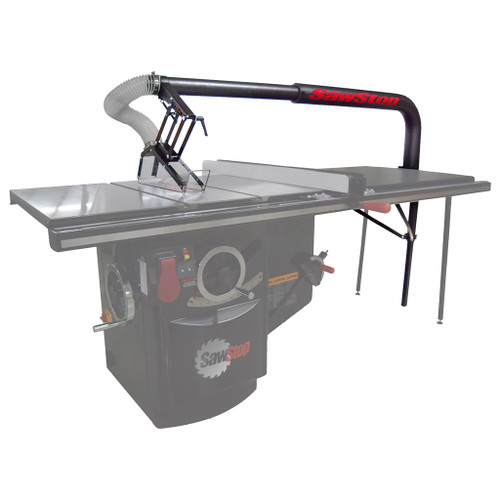 SawStop Floating Overarm Dust Collection Guard