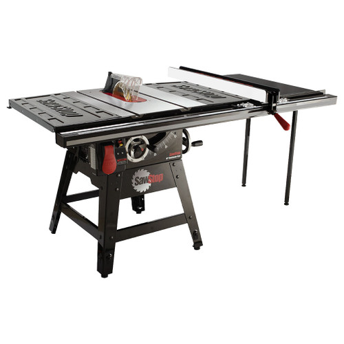 """SawStop 10"""" Contractor Saw, 36"""" T-Glide Fence, 1.75 HP, 120V"""