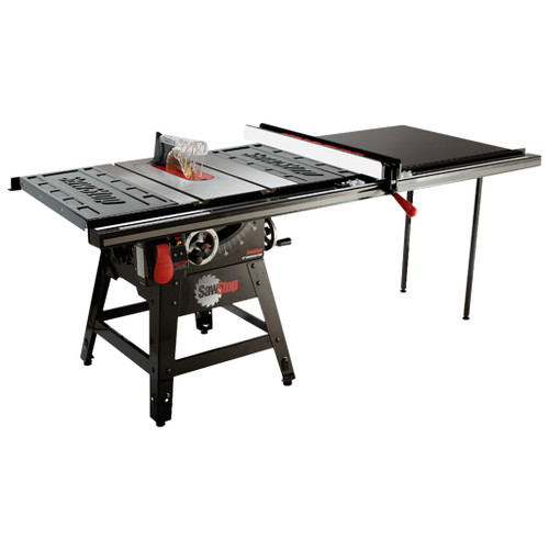 """SawStop 10"""" Contractor Saw, 52"""" T-Glide Fence, 1.75 HP, 120V"""