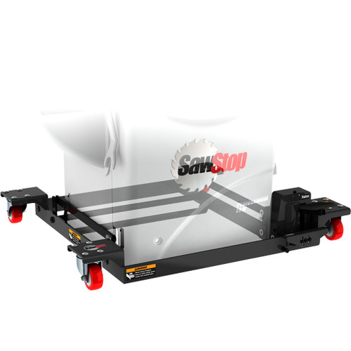 SawStop Professional Cabinet Saw Industrial Mobile Base with Conversion Kit