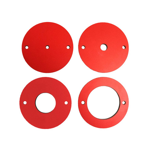 SawStop 4-Piece Phenolic Insert Ring Set for Router Lift