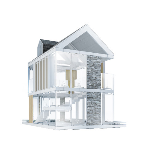 Arckit 90 Architectural Modeling Kit, 230-Piece