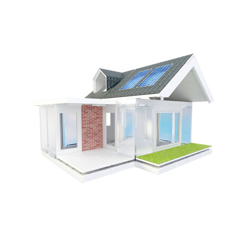 Arckit Mini Dormer 2.0 Architectural Modeling Kit, 80-Piece