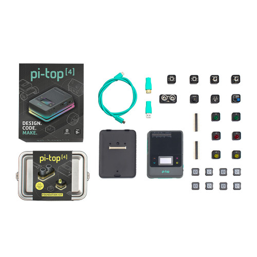 pi-top 4 with Raspberry Pi 4 and Foundation Kit