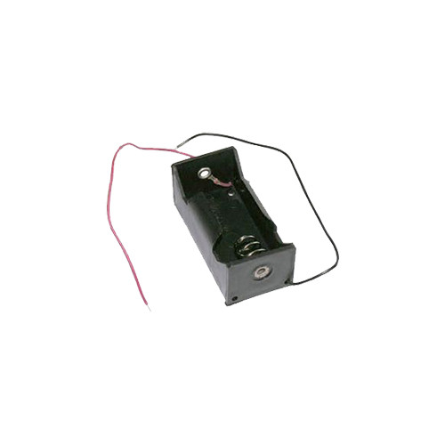 Electronix Express C Battery Holder with Wire Leads