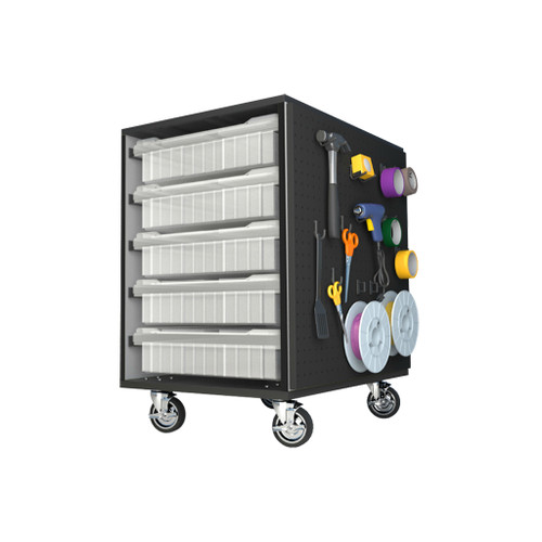 CEF Stewart Storage Cart with 10 Bins