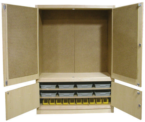 """Hann 60"""" Automotive Tool Cabinet With Tools"""