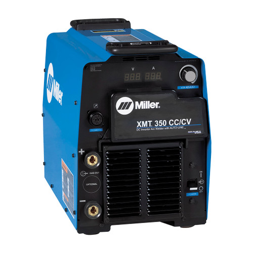 Miller XMT 350 CC/CV Multiprocess Welder, Dinse