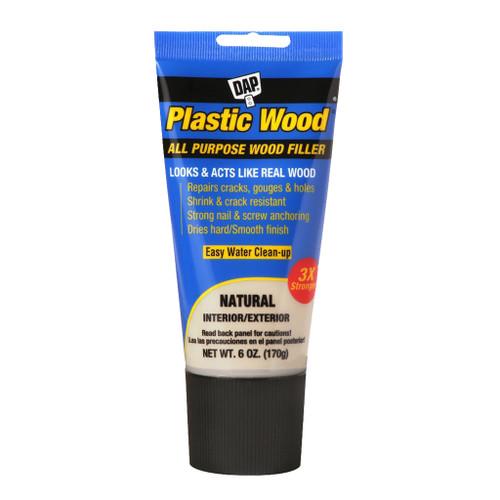 Dap Plastic Wood Latex Wood Filler, Natural