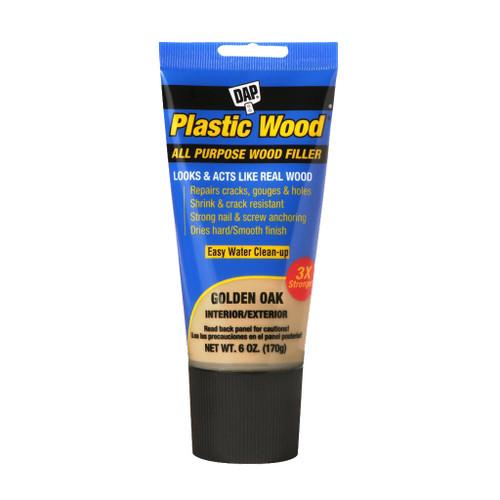 Dap Plastic Wood Latex Wood Filler, Golden Oak