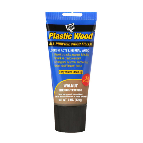 Dap Plastic Wood Latex Wood Filler, Walnut