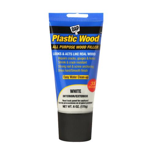 Dap Plastic Wood Latex Wood Filler, White