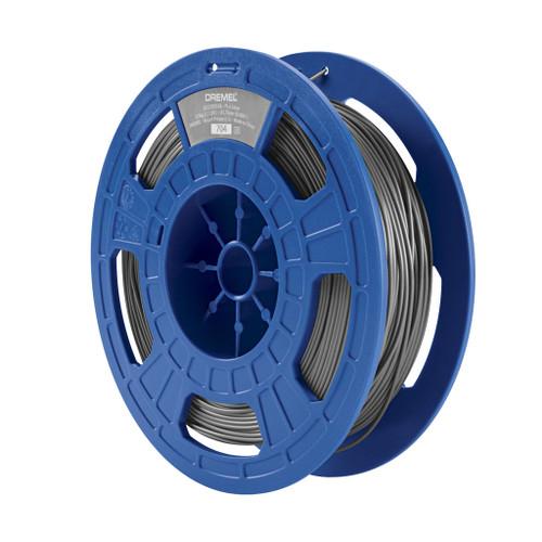 Dremel PLA Filament, 1.75mm, 1.65 lb. Spool, Silver