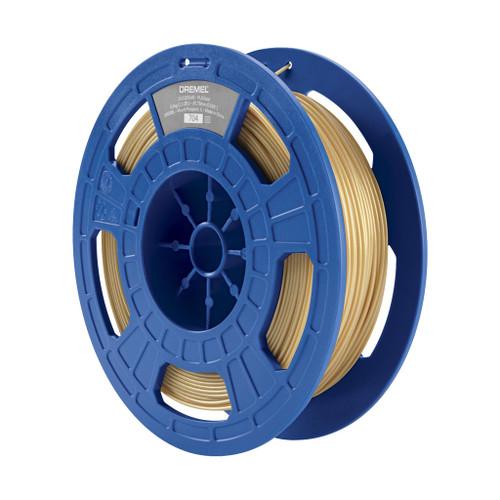Dremel PLA Filament, 1.75mm, 1.65 lb. Spool, Gold