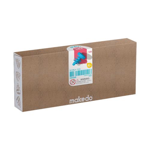 Makedo Cardboard Construction Scru + Kit, 120-Piece