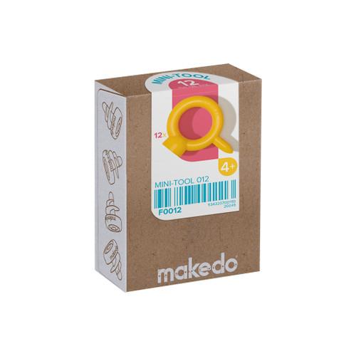 Makedo Cardboard Construction Mini-Tool Kit, 12-Piece