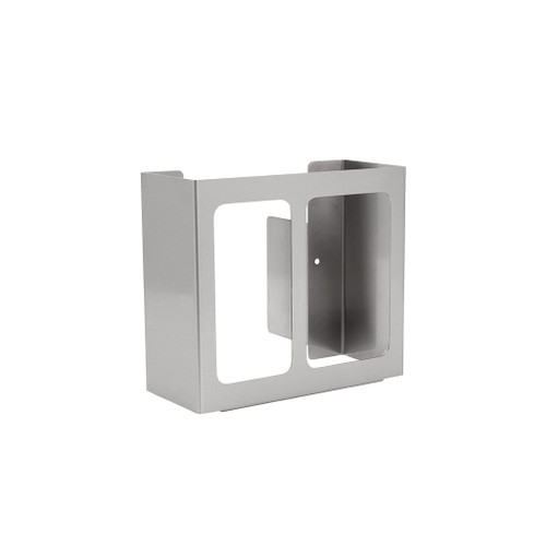 Diversified Woodcrafts Classsroom Glove Dispenser Hygiene Station, 2-Compartment
