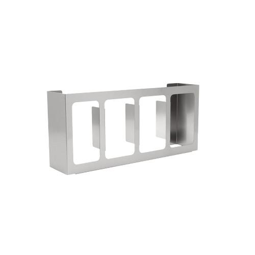 Diversified Woodcrafts Classsroom Glove Dispenser Hygiene Station, 4-Compartment