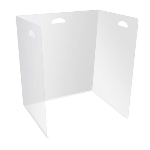 """Deflecto Lightweight Classroom Desktop Barrier, 22""""W x 16""""D x 24""""H"""