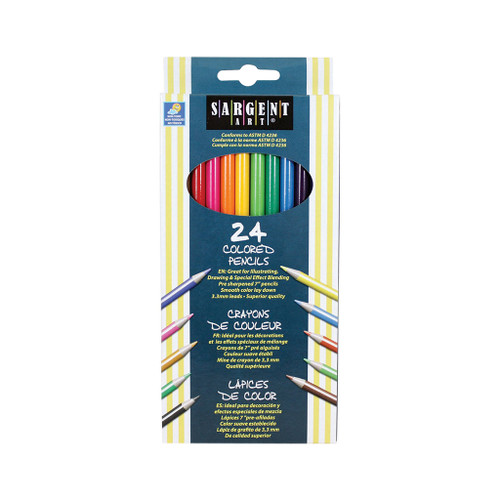 Sargent Art Colored Pencils, 24-Pack DISCONTINUED