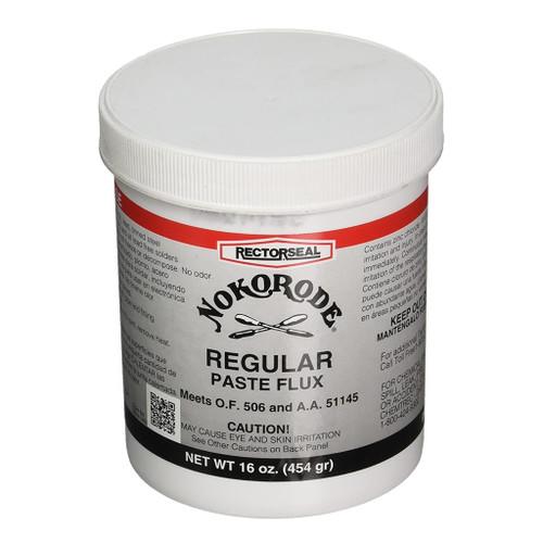 Rectorseal Nokorode Regular Paste Flux, 16 oz.