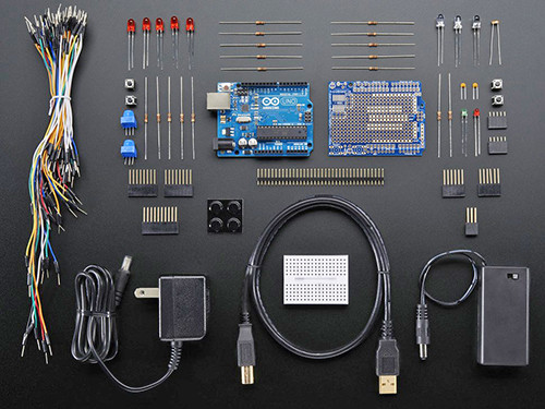 Adafruit Starter Pack for Auduino with Uno R3