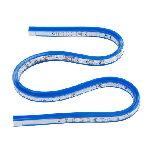 "Pacific Arc Flexible Ink Edge Curve, 24"""