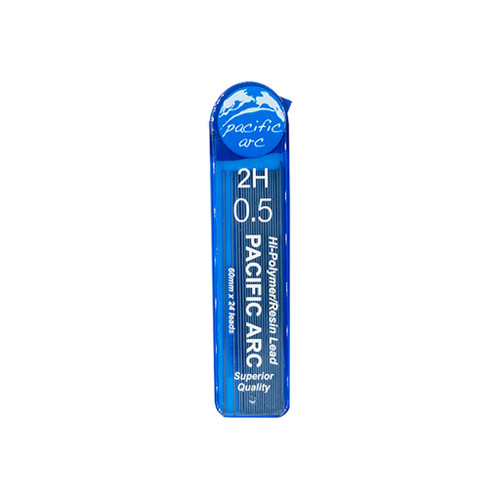 Pacific Arc Hi-Polymer Resin Refill Leads, 0.5mm, 2H