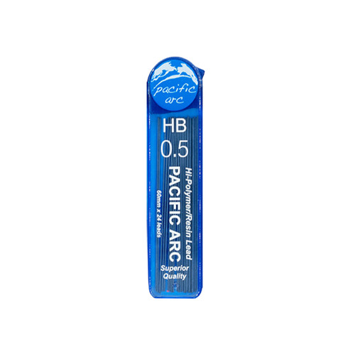 Pacific Arc Hi-Polymer Resin Refill Leads, 0.5mm, HB