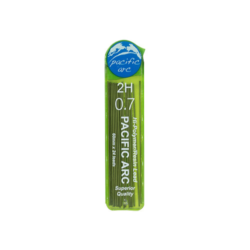 Pacific Arc Hi-Polymer Resin Refill Leads, 0.7mm, 2H