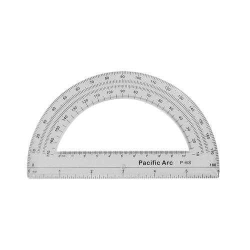 """Pacific Arc Semi-Circle Protractor, 6"""""""