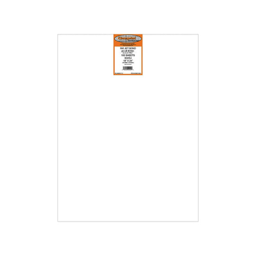 "Clearprint 20# Opaque Bond Plotter Paper, 18"" x 24"" 100-Pack"