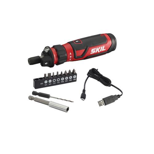 Skil 4V Screwdriver with Circuit Sensor Technology