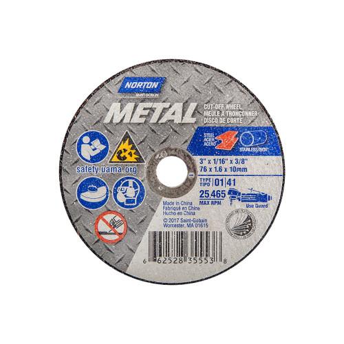 "Norton Abrasive Cut-off Wheel, 3"""