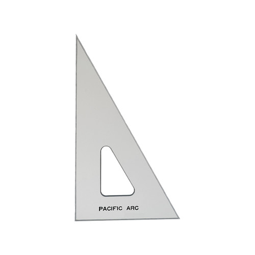 """Pacific Arc Professional TG-Series Triangle, 8"""" 30/60/90"""