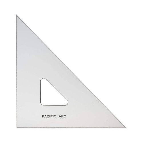 """Pacific Arc Professional TG-Series Triangle, 10"""" 45/90"""
