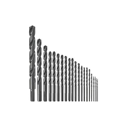 Bosch 21-Piece Black Oxide Metal Drill Bit Set