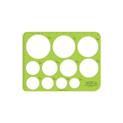 Pacific Arc Large Circle Master Template