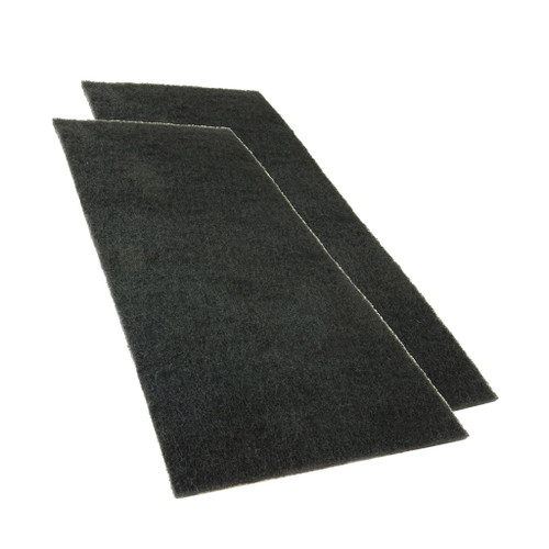 Pasche HSSB Bench Top Spray Booth Charcoal Replacement Filter, 2-Pack