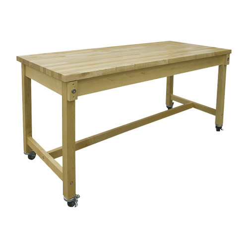 """Hann Collaboration Table, 30"""" x 72"""" with 1-3/4"""" Maple Top"""
