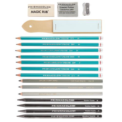 Prismacolor Premier Graphite Drawing Set, 18-Piece